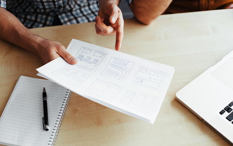 company profile creative design tips