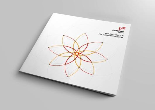 creative design company profile samples