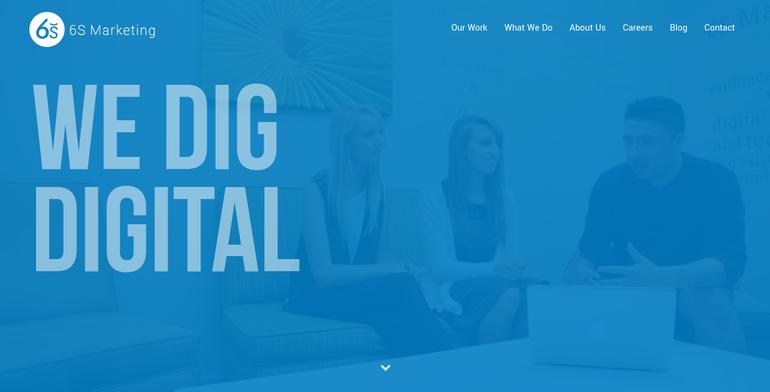 digital creative agency works examples
