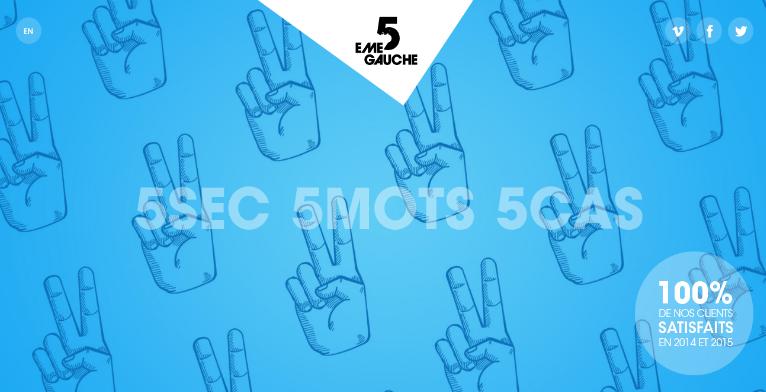 5 eme gauche digital creative company