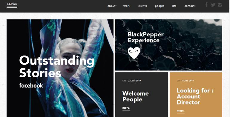 84paris creative marketing company