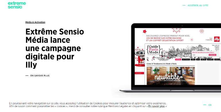 Extreme Sensio online creative agency