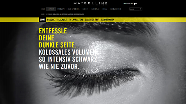 Leather Black Maybelline