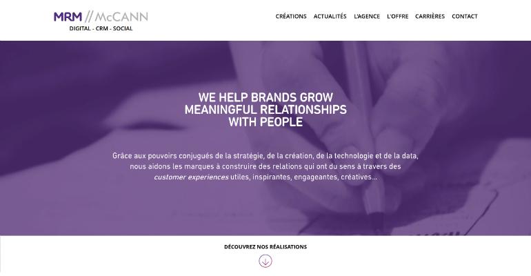 MRM McCANN online creative agency