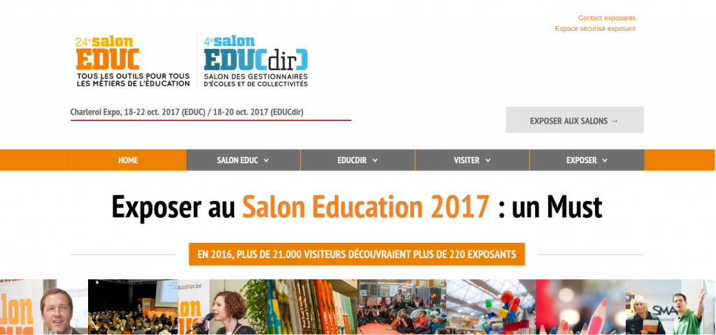agence kalipso Salon Education