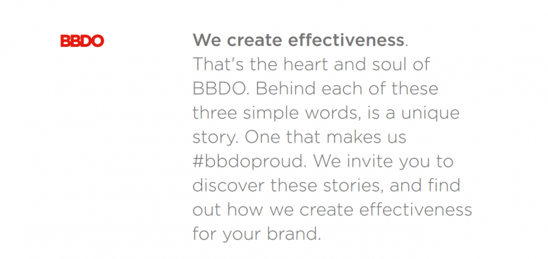 Creative Agency BBDO