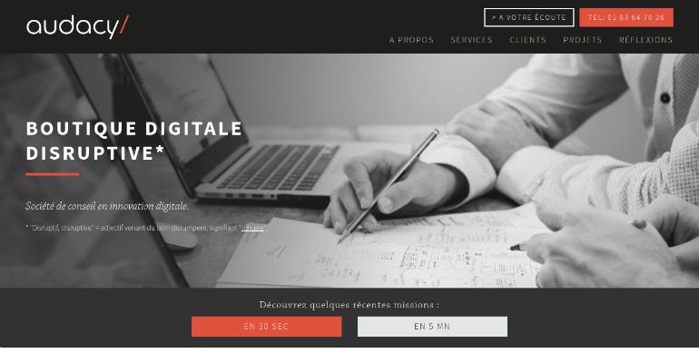 audacy creative web agency