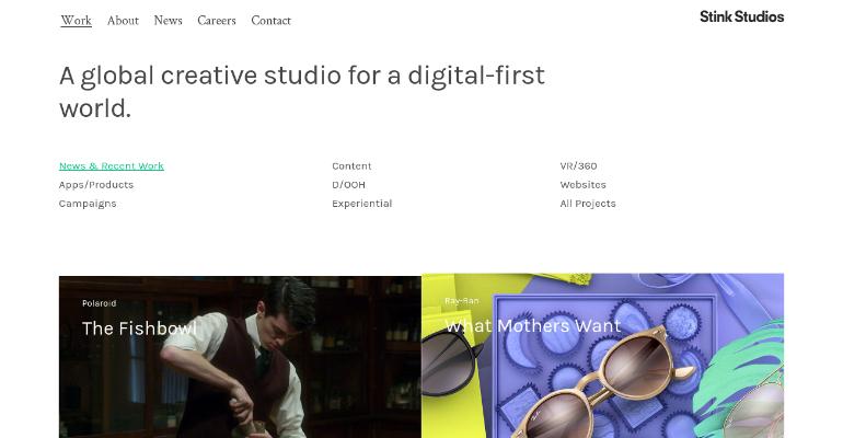 company creative stink studios
