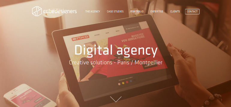creative web agency cubedesigners