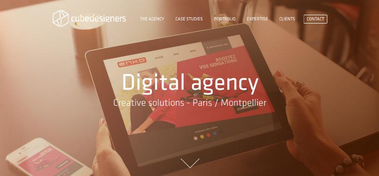 creative web agency cubedesigners