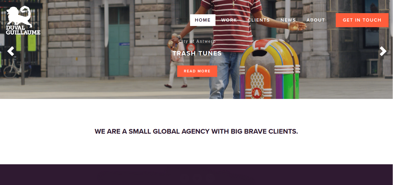 creative web agency duval guillaume