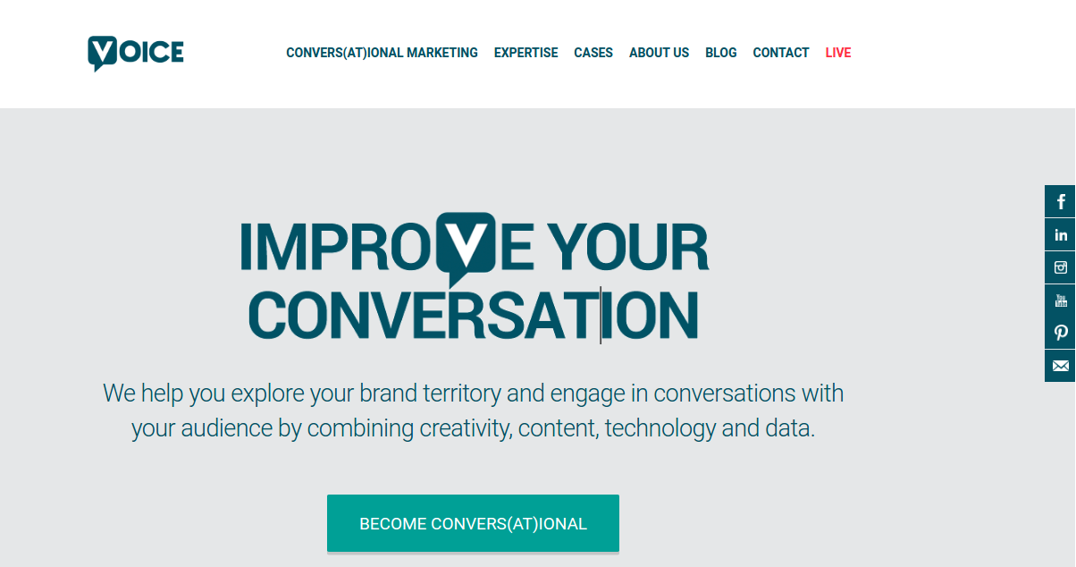 digital creative agency voice