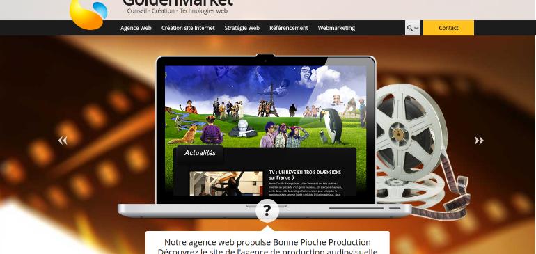 Creative Agency Golden Market