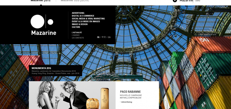 Creative Agency Mazarine