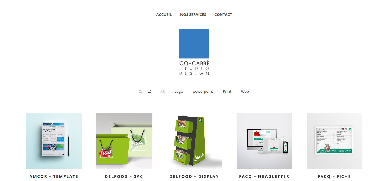online creative agency Co-Carré