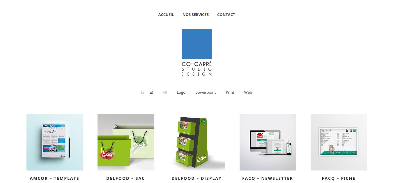 online creative agency Co-Carré