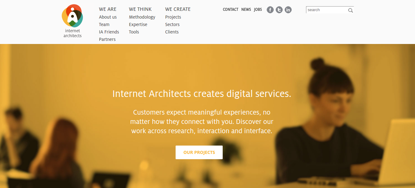 online creative agency internet architects