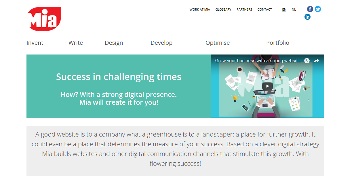 online creative agency mia