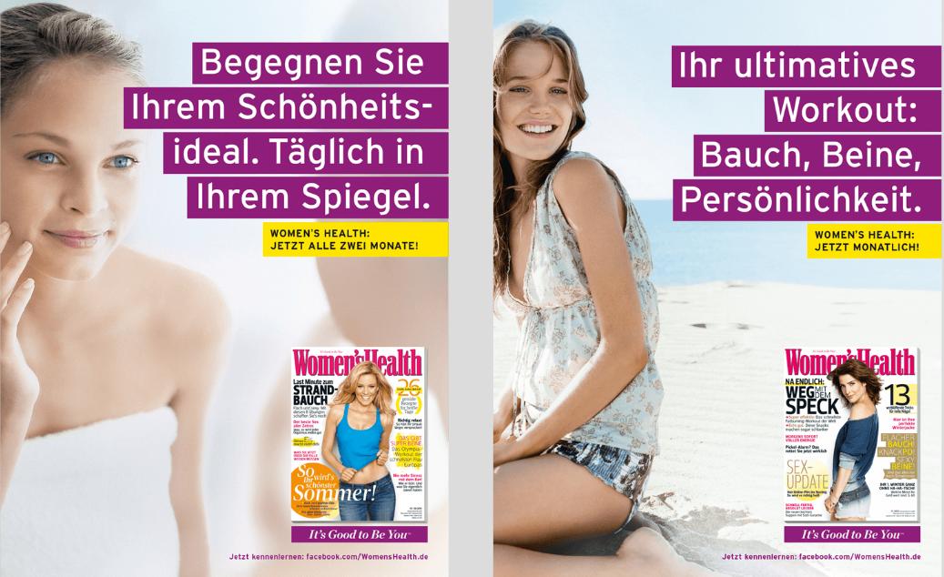KNSK Werbeagentur women's health