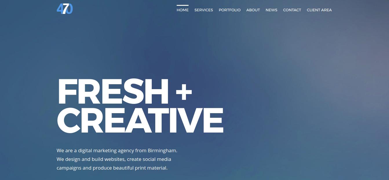 agency creative 470 media