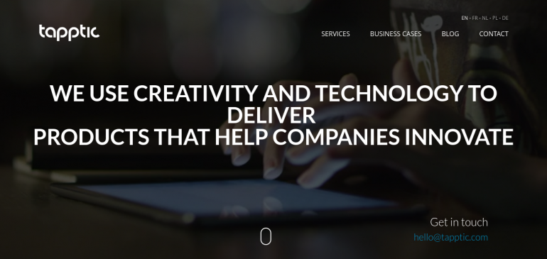 Creative Agency Tapptic