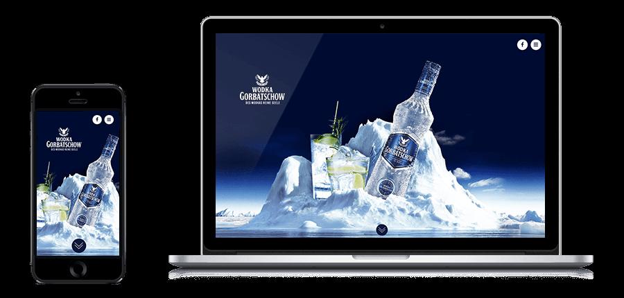artus interactive Wodka Gorbatschow