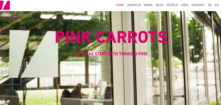 Creative Agency PINK CARROTS Communications