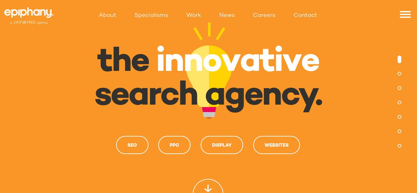 creative design company epiphany search