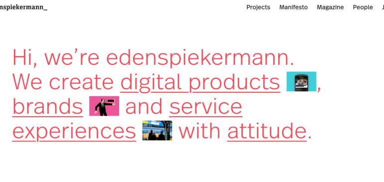 Creative Agency Edenspiekermann
