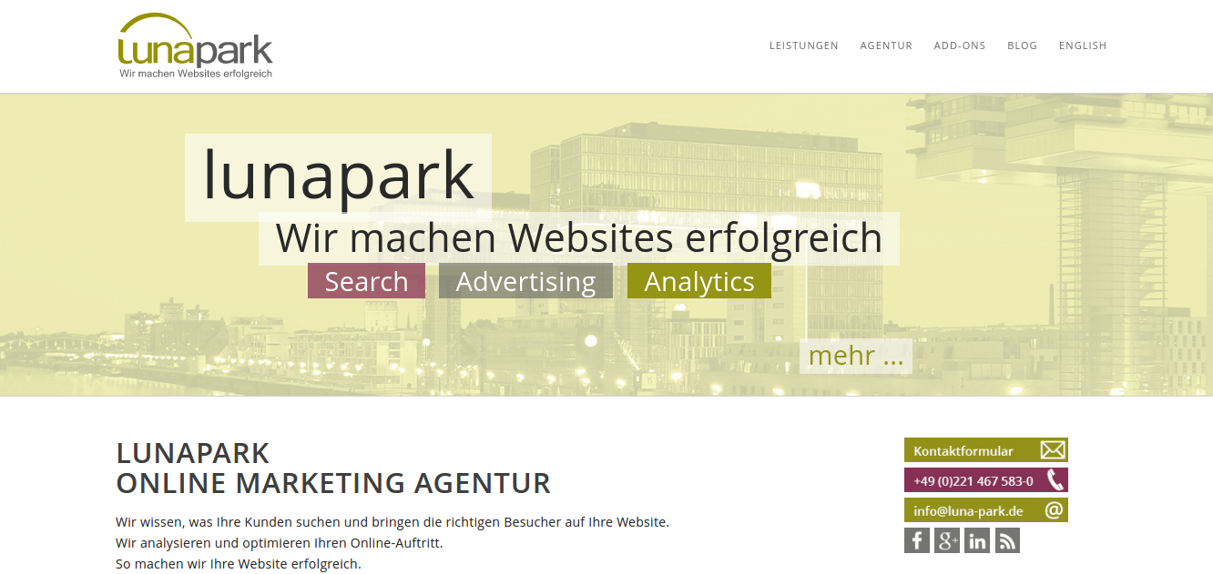 creative web agency lunapark