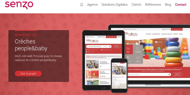 creative web agency senzo