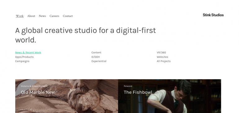 Creative Agency Stink Studios