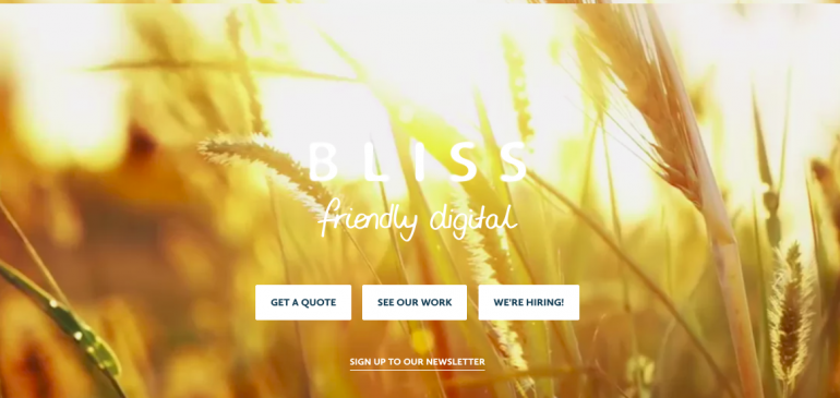 Creative agency Bliss