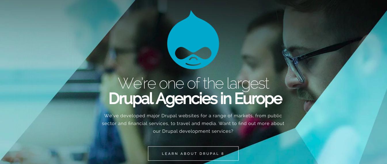 creative agency cti digital main page