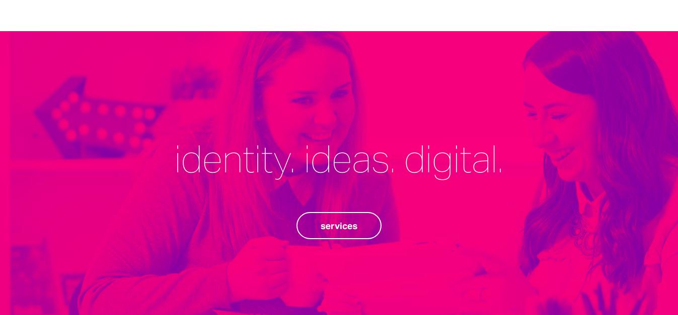 creative agency innovation main page