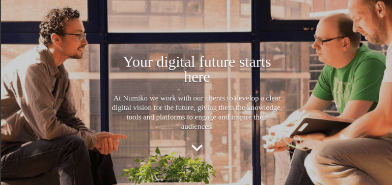 Creative agency Numiko