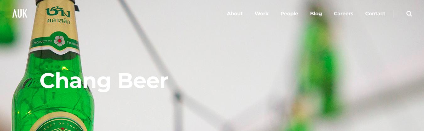 creative agency uk work