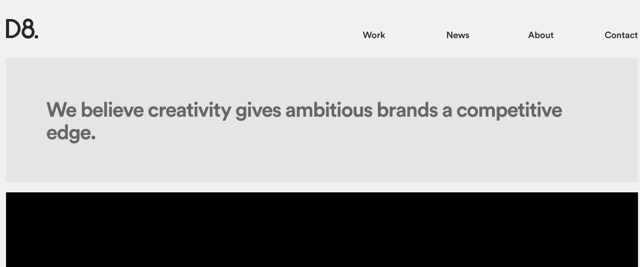 creative agency d8