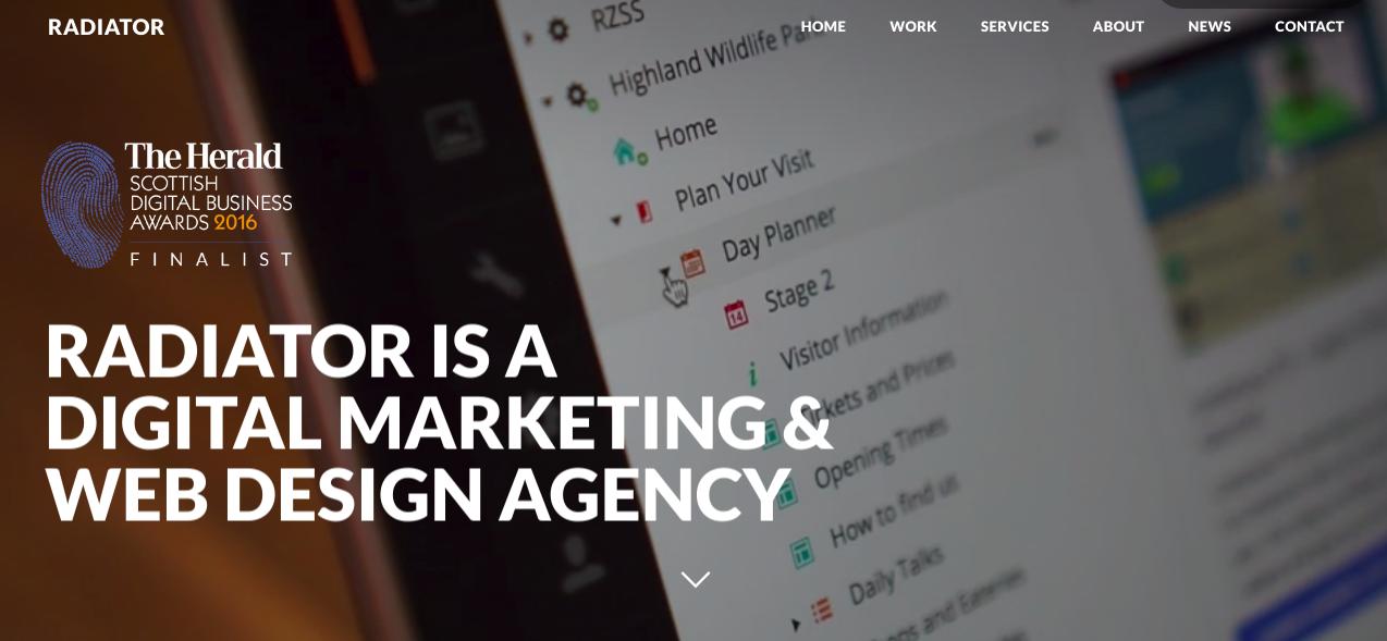 creative agency radiator