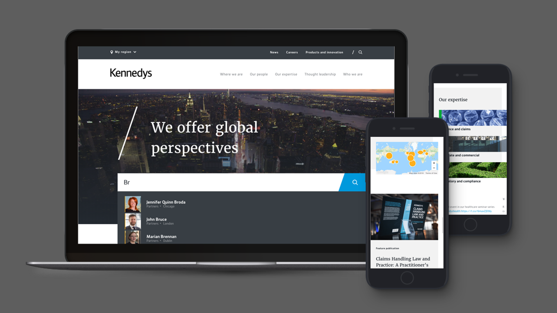 online crative agency kennedys