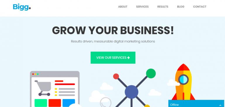 Online Creative Agency Bigg