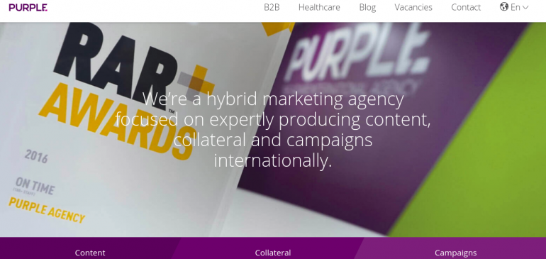 Online Creative Agency The Purple Agency