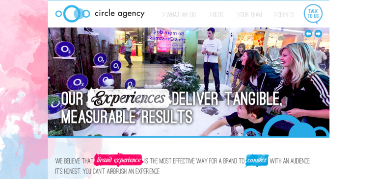 Online Creative Agency Circle Agency