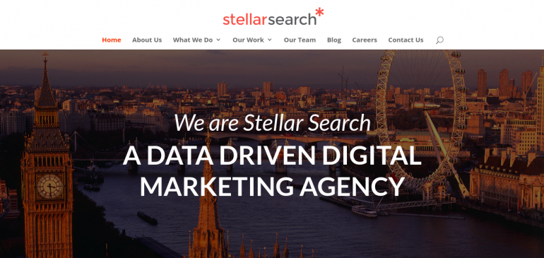 Online Creative Agency Stellar Search