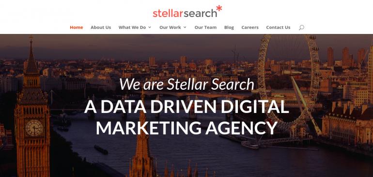 Online Creative Agency Stellar Search